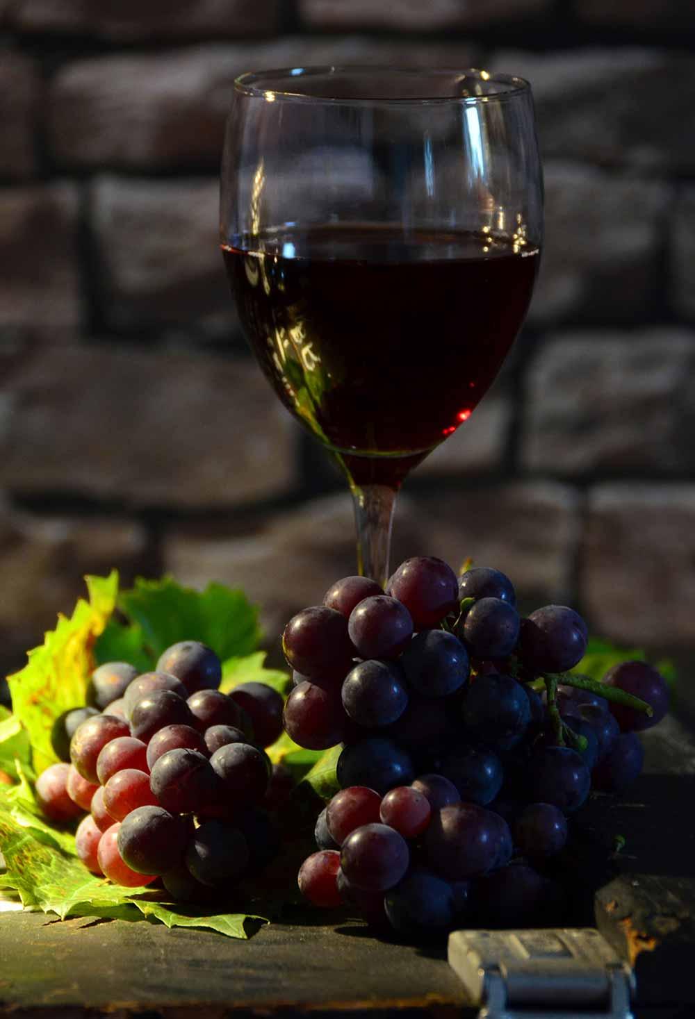 Dornfelder Rotwein aus Deutschland
